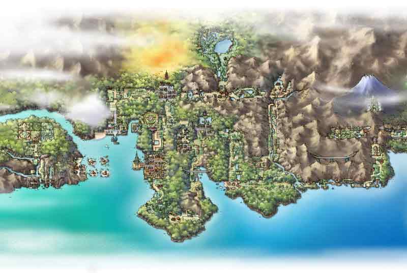 Pokemon Regions in Japan || Narrative